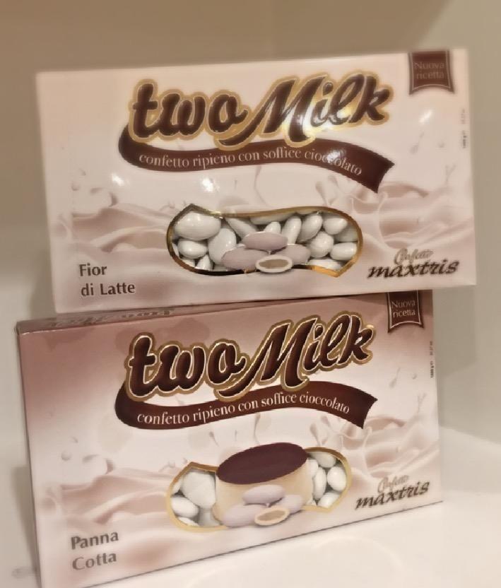 Confetto ripieno con soffice cioccolato ai vari gust