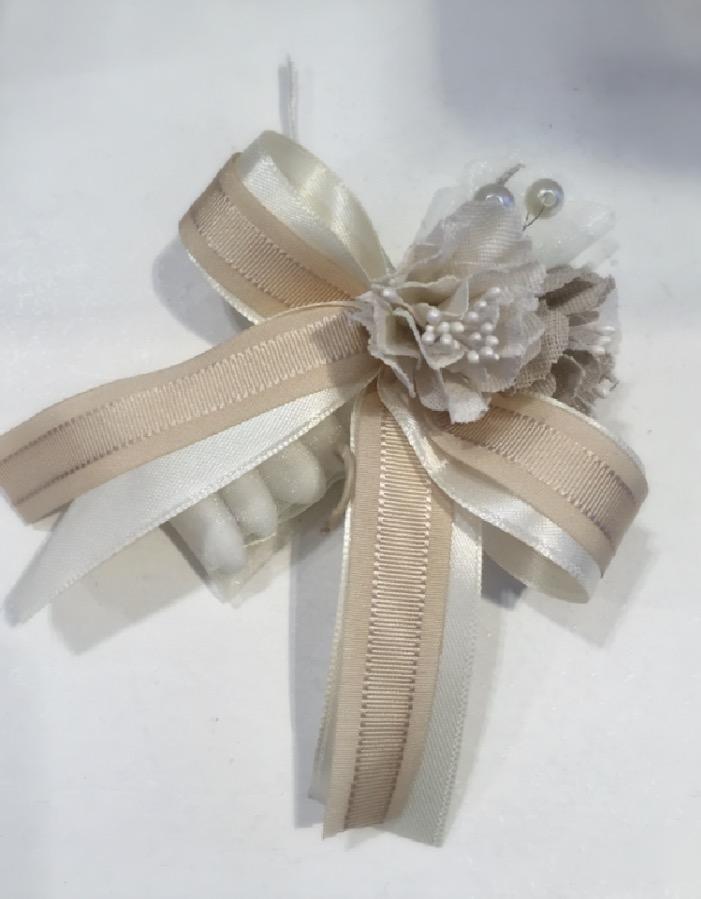 Confezione tubo con fiore Margot