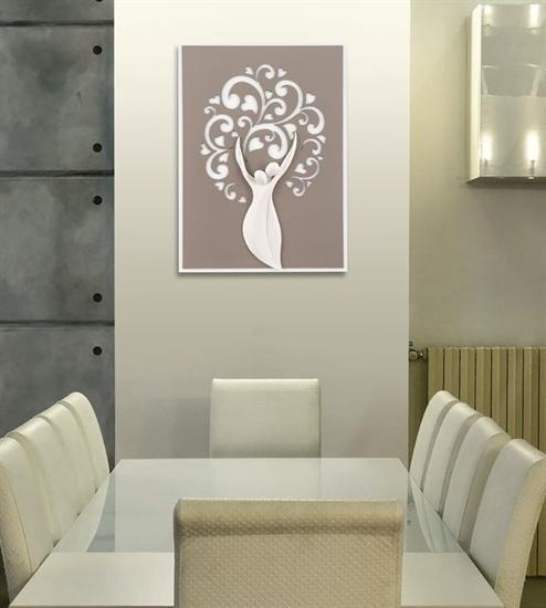 Quadro con albero della vita di Memory Argenti