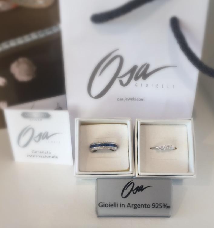 Anelli in argento di Osa jewels