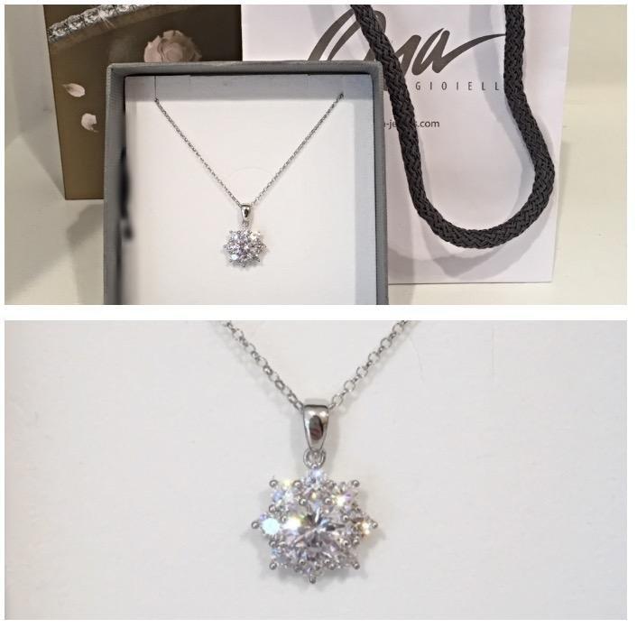 Collana in argento di Osa jewels