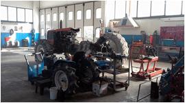 riparazione macchine movimento terra
