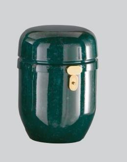 Urna tamponata verde ø 20x25H.