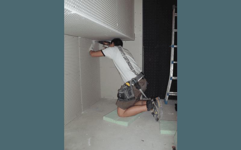 isolamento parete