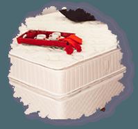 La ditta produce e vende i migliori materassi a molle indipendenti.