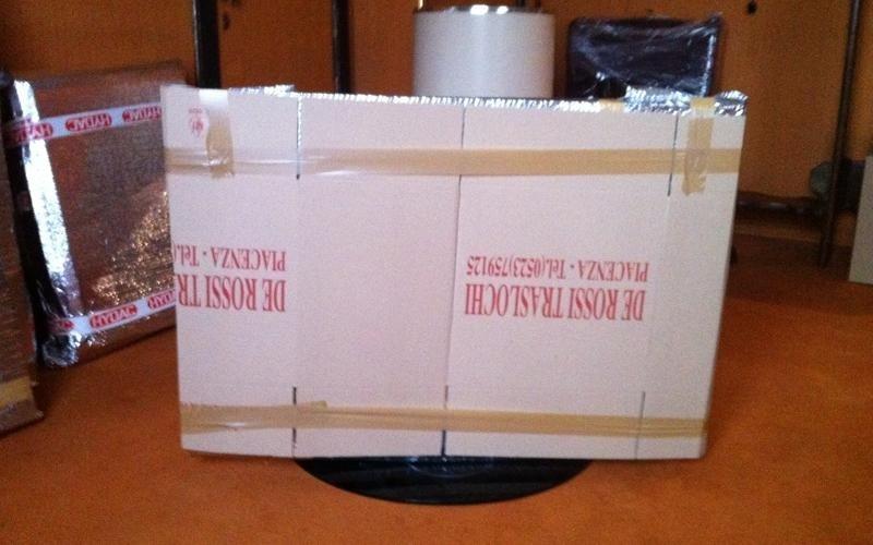 imballaggio tv