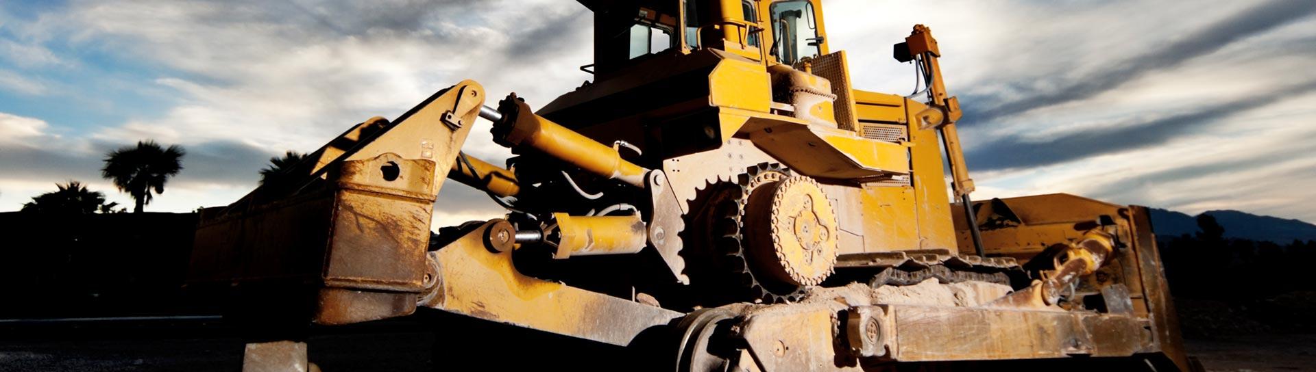 heavy machinery weighing