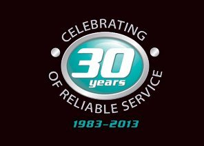celebrating thirty years of reliable service