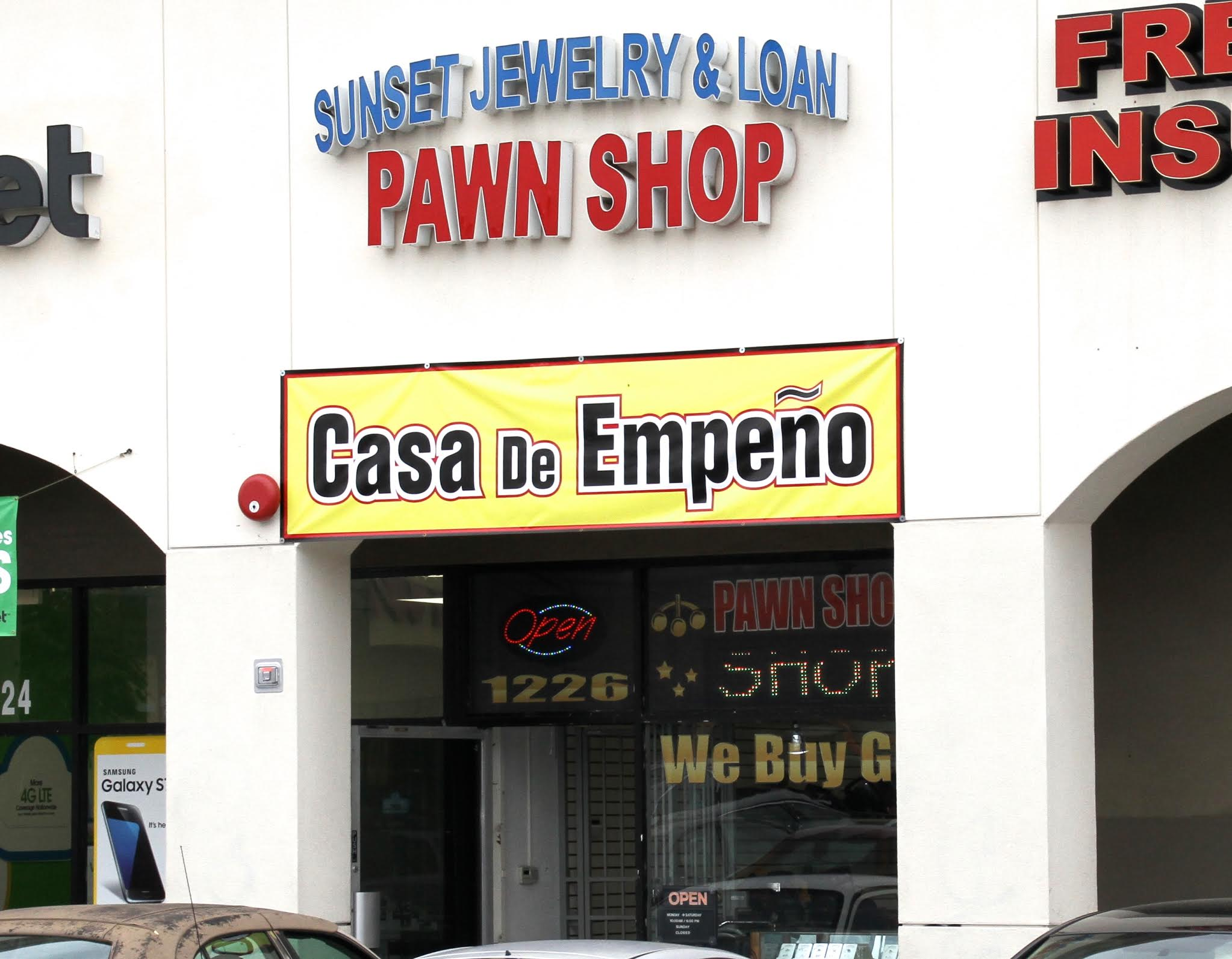 Sunset jewelry loan in west covina california 626 for Sunset pawn and jewelry