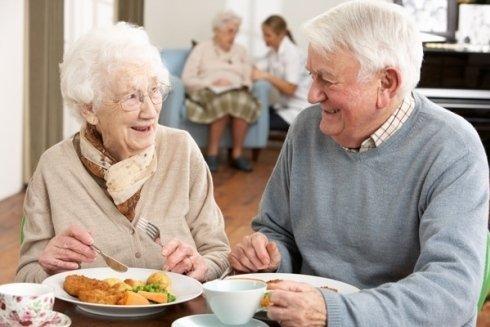 Accoglienza anziani.
