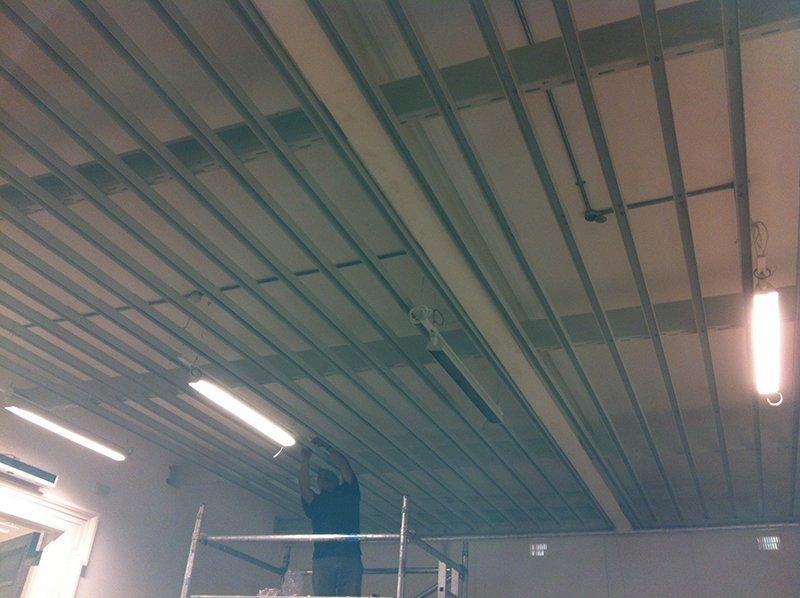 sturdy ceiling