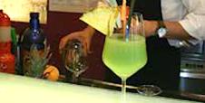 drink di colore verde