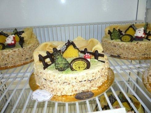 torte in un frigo