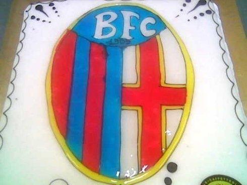 torta di una squadra di calcio