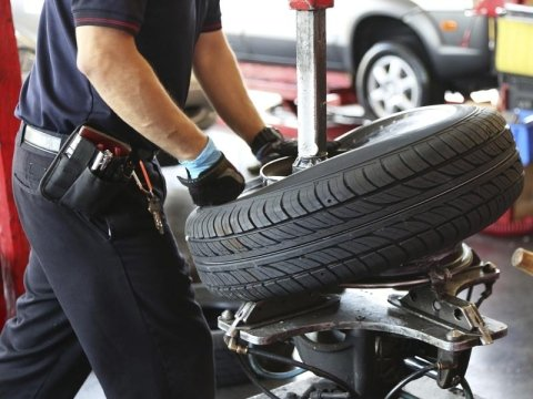 replacement of tyres