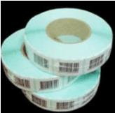 rulli di etichette adesive antitaccheggio