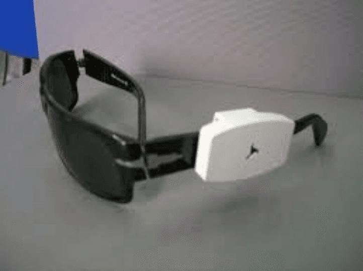 occhiali con antitaccheggio