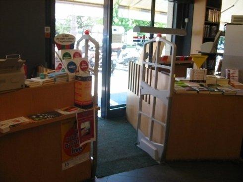 antitaccheggio per librerie, sistemi di sicurezza per librerie, protezione libri