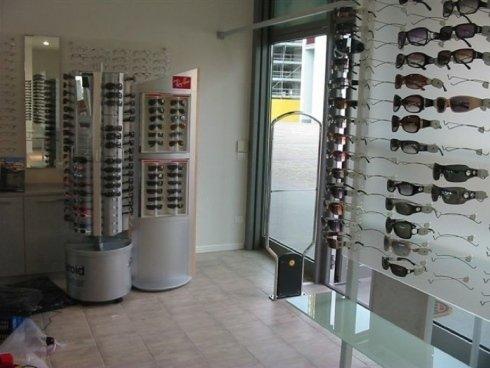 antitaccheggio per occhiali, protezione ottica, sistemi a radiofrequenza