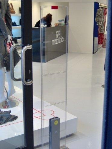 sicurezza negozio, punto vendita sorvegliato, videosorveglianza