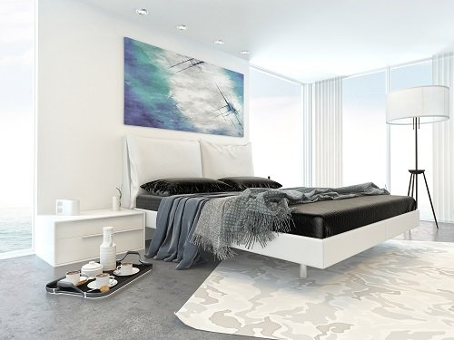 stanza da letto moderna