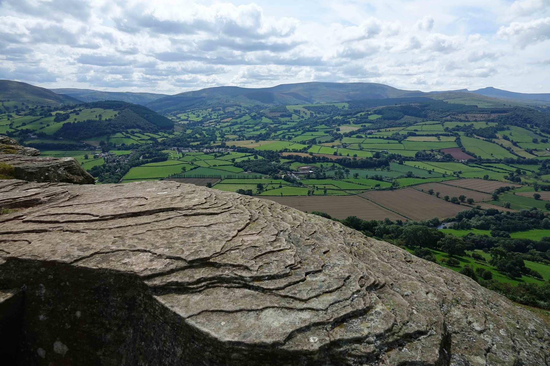 Landscape in brecon