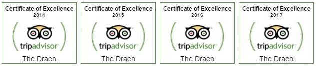Trip Advisor Excellence Awards