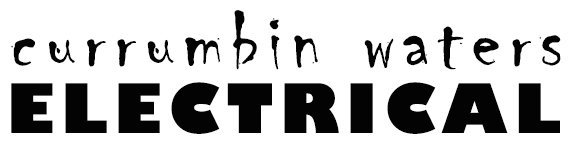 currumbin waters electrical business logo
