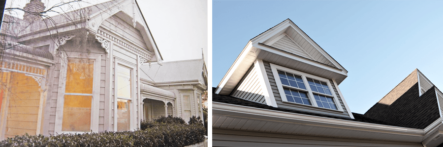 completed window repairs in Auckland