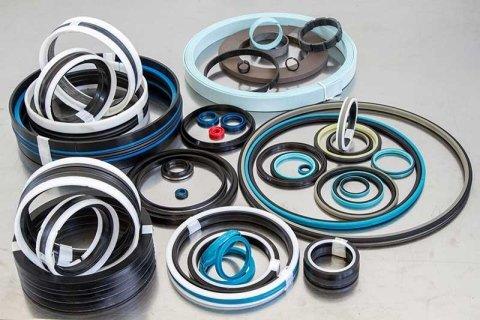 Hydraulic and pneumatic gaskets