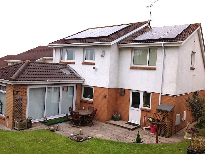 high-quality solar panel installation