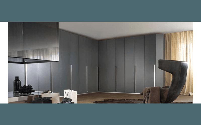 Simple armadio su misura with letto nell armadio - Letto incassato nell armadio ...