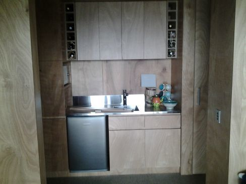 View of cabinets designed by expert