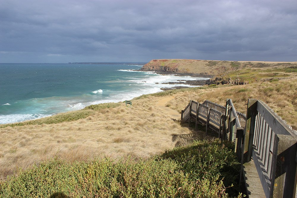 Beautiful landscape view of Phillip island