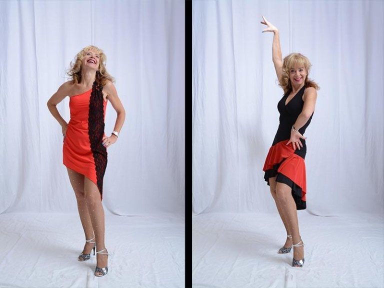 abito ballerina flamenco