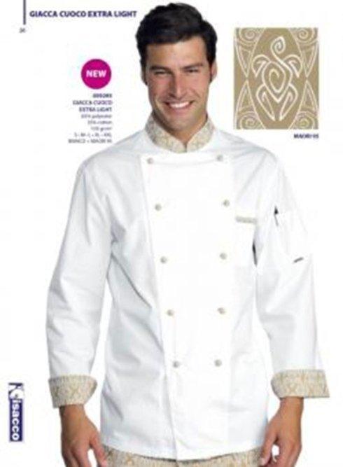 Abito bianco da cuoco