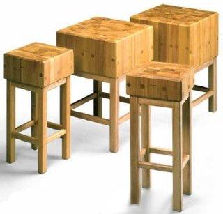 ceppi legno di acacia