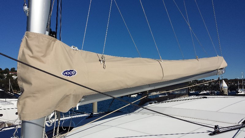 View of high quality sails