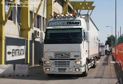 mezzo per il trasporto merci internazionale
