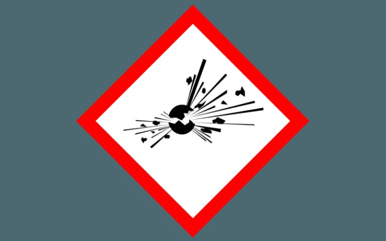 etichetta per la chimica _GHS01