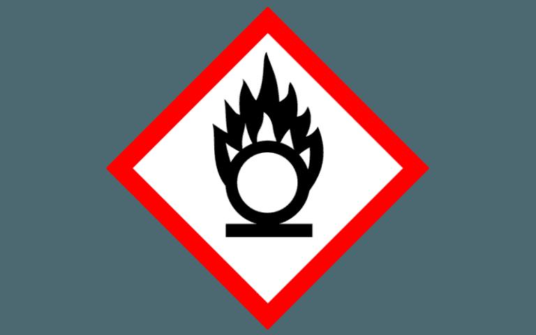 etichetta per la chimica _GHS03