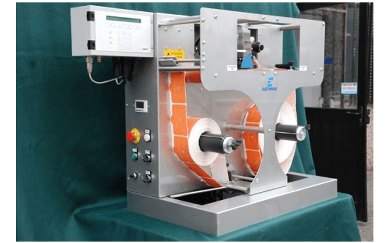 stop and go label marking machine