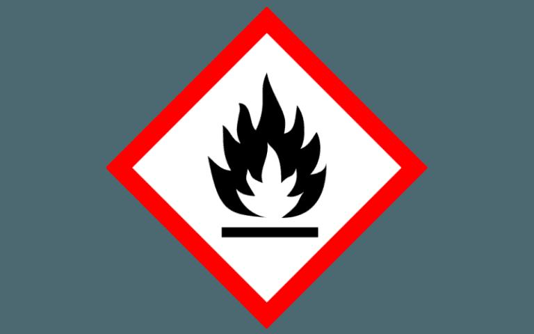 etichetta per la chimica _GHS02