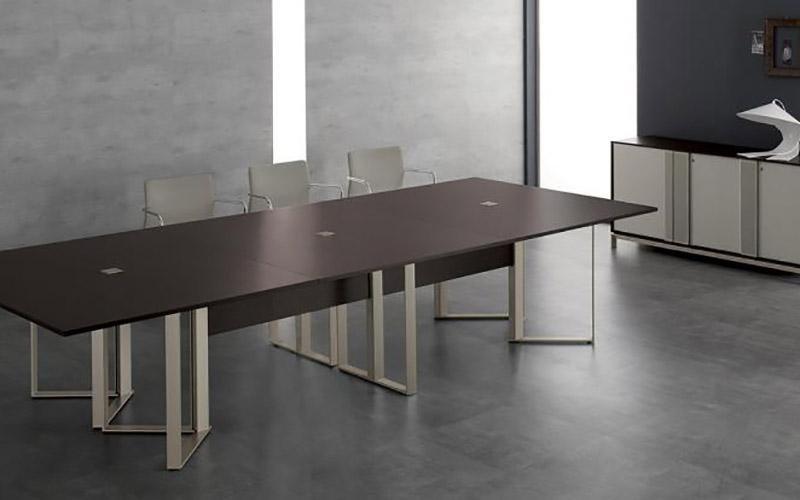 Tavolo conferenza Spagnol Infinity Meeting in legno