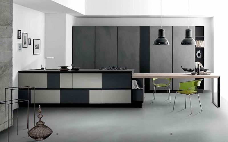 Cucina Spagnol ScaccoMatto - High Design tavolo in legno