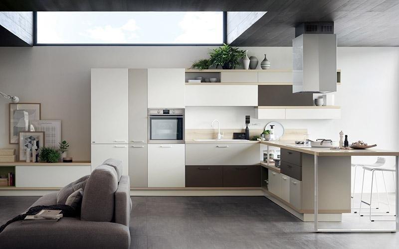 piano in legno cucina