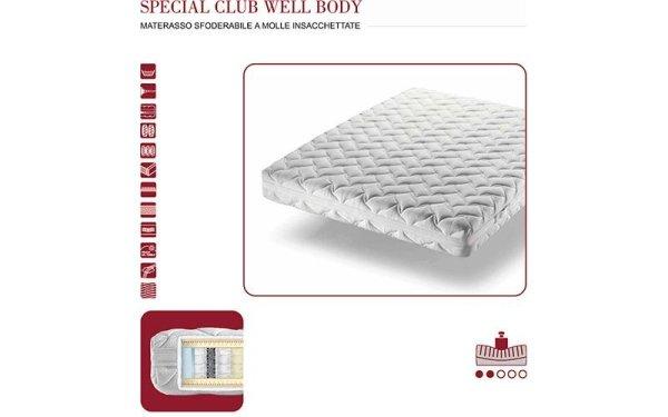 Materasso Oggioni Special Club Well Body