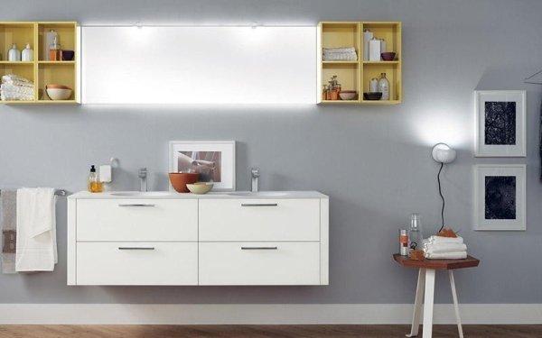 Bagno Scavolini Font lavabo con cassettiera