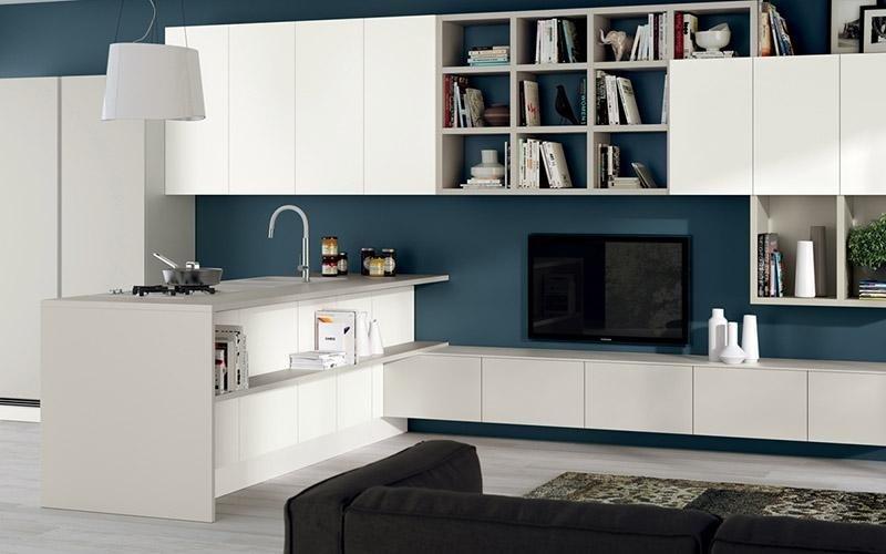 Arredamento per soggiorno integrato liberamente