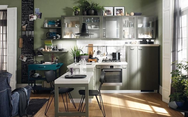 cucina bianca Scavolini